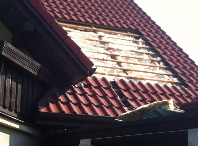 Ocieplenie dachu piank� PUR