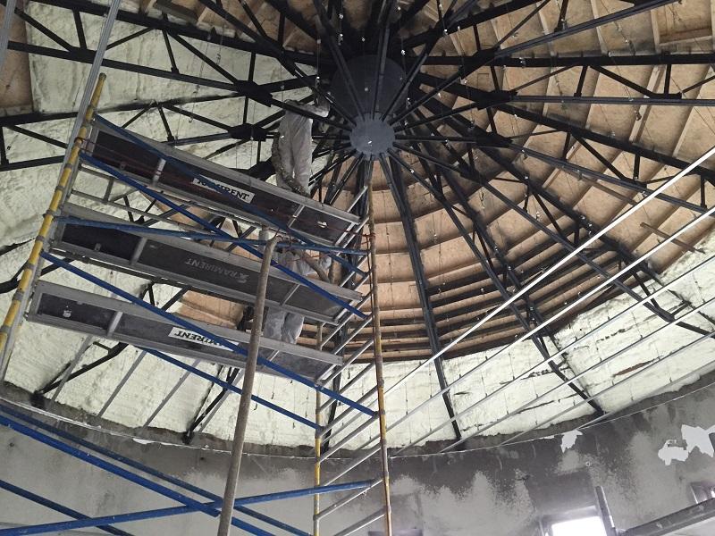 Ocieplenie dachu pianką Zawiercie